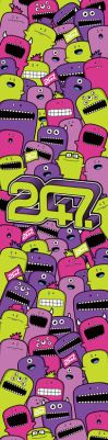 247 Magazine Stand Graphic by 54NCH32