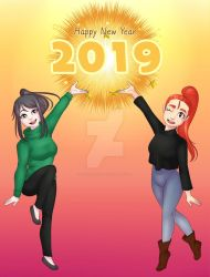 Happy New Year by IceAngel0203