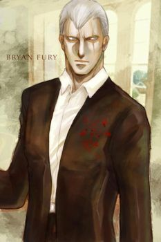 bryan fury in suit... by shinjyu