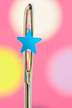 My little blue star by pqphotography