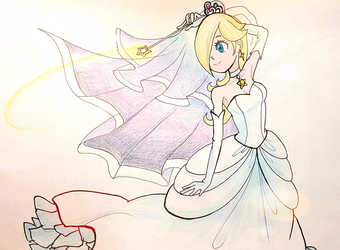 Rosalina's 10th Birthday by Derochi