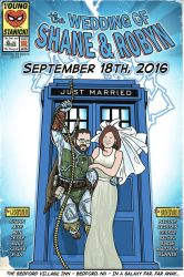 custom comic wedding portrait by jhroberts