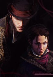 Jacob and Evie by shalizeh