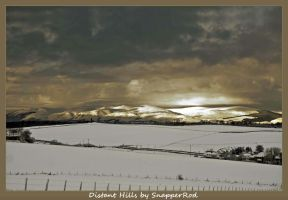 Distant Ochil Hills by SnapperRod