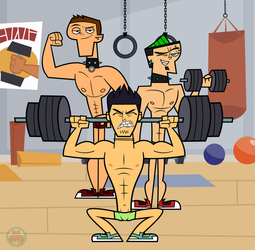 Comm. Gym Boys by Mother-of-Trolls