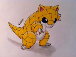kanto no. 027 Sandshrew