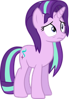 Starlight Glimmer (tired vector) by davidsfire