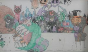 Halloween Tea Party project 1 by PlayboyVampire