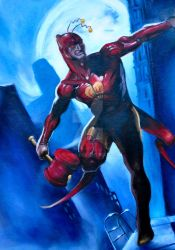 chapulin basado en daredevil secret war by ElMikr