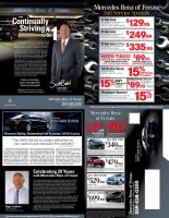 Mercedes-Benz of Fresno Mailer by tlsivart