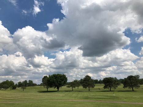 BT GC Clouds Over the Course IMG 1990 by TheStockWarehouse