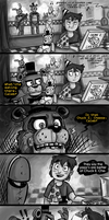 Freddy Vs Chuck E. by wolfjedisamuel