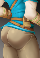 BOTW Link Booty by GasaiV