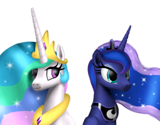 The two sisters by platinumdrop
