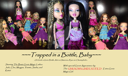 Trapped in a bottle-baby! by TwiggyLeeManson