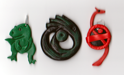 T-Rex, Pendant and symbol of the Dagger of Xian by Charlie-of-LHCblog