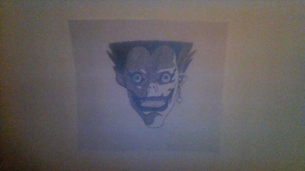 ryuk-death note by antiscribbles