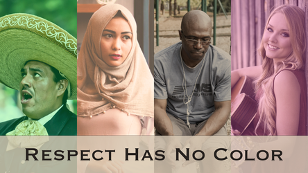 Respect Has No Color by michaelsboost