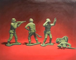 Toy soldiers by Raymax