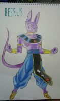 beerus by toffee-ian
