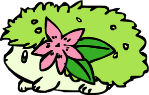 Baby Shaymin by sunnyfish