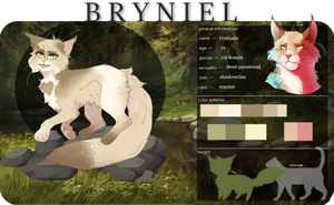 current, updated | Ivyshade Reference Sheet by Lavenderspells