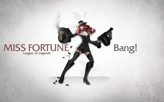 League of Legends Wallpaper - Miss Fortune by deSess