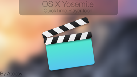 OS X Yosemite QuickTime Player Icon! by Atopsy