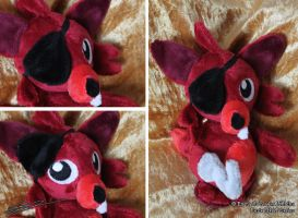 Foxie Five Nights at Freddys 3 inspired Plushie by LiChiba