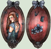 BookMark Nathalie by Songes-et-crayons