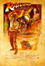 RAIDERS of the LOST ARK by markmchaley