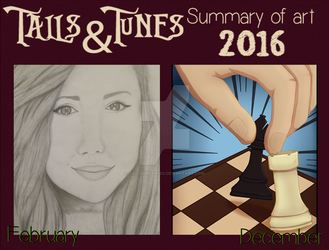 2016 Summary of art by Tailsandtunes