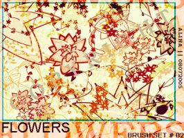 PS flower brushes by alina2005