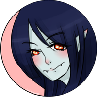 [Button Badge] Marceline by gigabunny