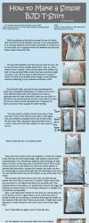 How to Make a Simple BJD T-Shirt by RodianAngel