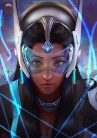 Overwatch: Symmetra by Raphire