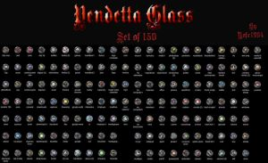 Vendetta Glass Set ico files by nofx1994