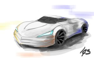 Speedpaint test: car concept by igasoris