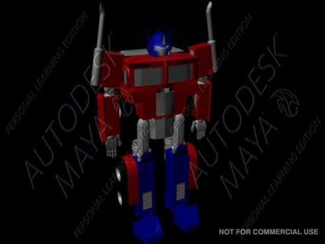 Optimus Prime 1 by dracowheelz5