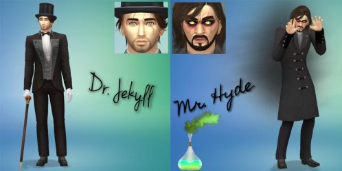 Dr.Jekyll and Mr.Hyde by Crazysimsgirl4