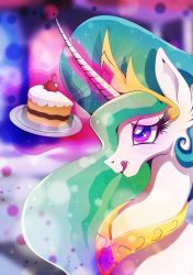 Enjoyment - Celestia by Rariedash