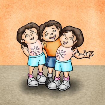 The Tiny Sweet Triplets by KeithMcMurran