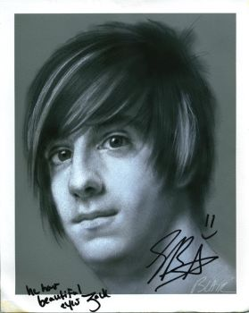 Jack Barakat, signed by Cynthia-Blair
