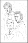 The Doctors Three - WIP by jeminabox