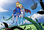 Commission: Rosalina and Helio 3 by avimHarZ