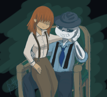 Mafia Couple by BandoleraRoja