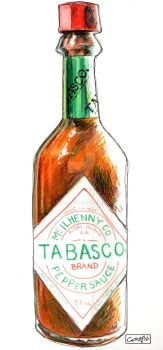 Tabasco Sauce by m99art