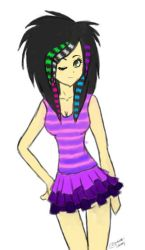 Scene Queen by 2stich2