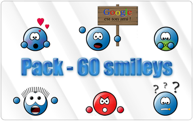Pack smileys Blue Class by Lucifer4671