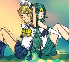 Sailor Lovers by DriRose